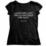T-shirt - Women are fact (women)