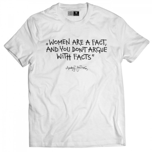 T-shirt - Women are fact (men)
