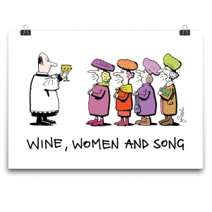 Poster - Wine, Women and Song (C)