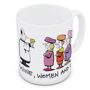 Mug - Wine, Women and Song